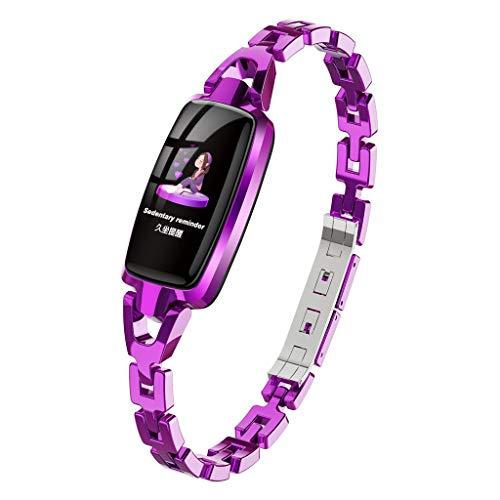 Wkgre Lady Smart Watches Calorie Classic Refined Tracker Wrist Watch Waterprof Bracelet Wearable Blood Pressure Monitor (1 PC, -