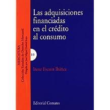 Las adqusiciones financiadas en el crédito al consumo