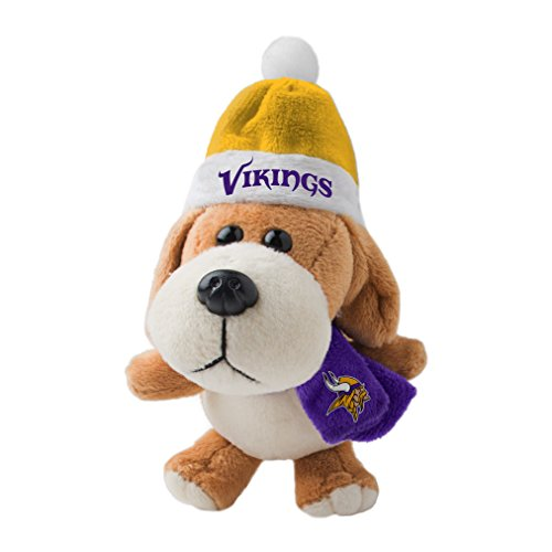 NFL Minnesota Vikings Plush Dog Ornament
