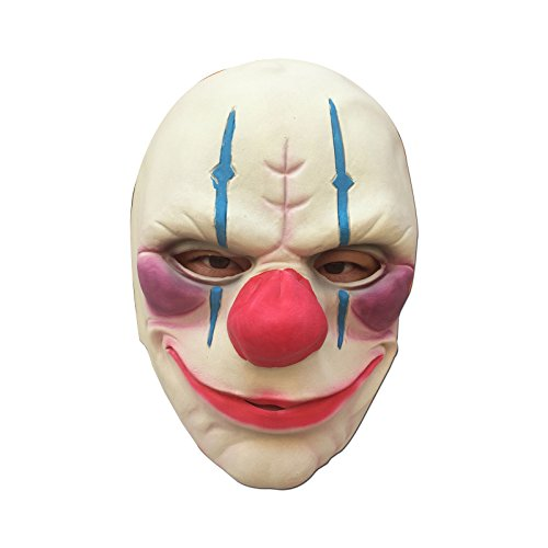 Game PAYDAY 2 Full Head Latex Mask Halloween Costume Props Collection Game Cosplay Horror Mask (Custom Face Masks For Halloween)