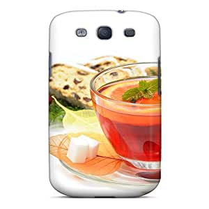 Hot Tpye Tea Time Case Cover For Galaxy S3