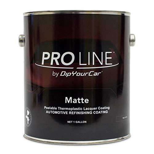 Performance Corvettes DYC DipYourCar PROLINE Matte Black Gallon Liquid Wrap Peelable Paint (NO California)