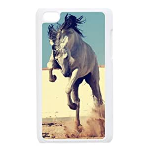 Personalized Unique Design Case for Ipod Touch 4, Galloping Horse Cover Case - HL-R670634