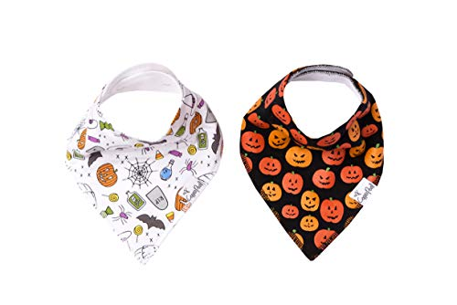 Baby Bandana Drool Bibs for Drooling and Teething 2-Pack Gift Set for Girls or Boys