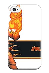 Waterdrop Snap-on Human Torch Case For Iphone 4/4s