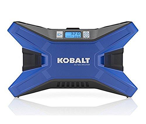 KOBALT Electric Portable Air Compressor 120 PSI 12 Volt & 120 Volt Tire Inflator (Air Compressor Parts Kobalt compare prices)