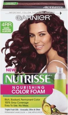 Garnier Nutrisse Nourishing Color Foam - 4RR Dark Intense...
