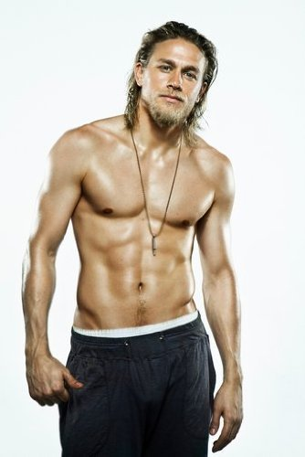 Sons of Anarchy Charlie Hunnam as Jackson 'Jax' Teller Shirtless HOT 11 x 17 Poster/Litho
