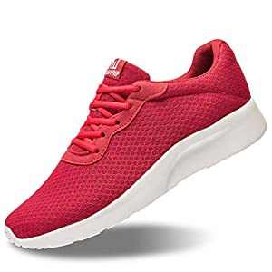 MAIITRIP Casual Shoes for Men Mesh Breathable Comfortable Lightweight Sole Jogging Running Sport Walking Tennis Lace up…