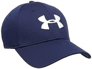 Under Armour Sportswear - Cap Blitzing II - Gorra de golf para hombre, color azul marino, talla L/XL