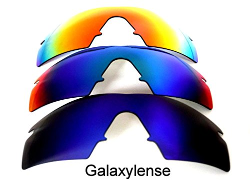Galaxy Replacement Lenses For Oakley M Frame Strike Polarized Blue&Green&Red 3 - Lens M Frame