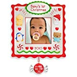 Baby's First Christmas Photo Holder 2010 Hallmark Ornament