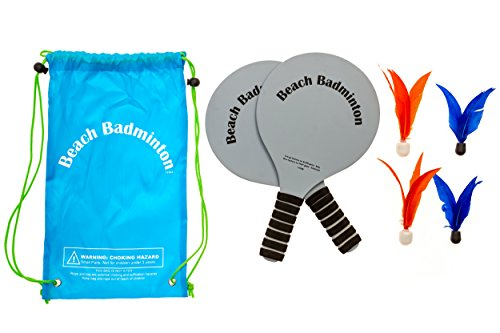 Beach Badminton Game With 2 LED And 2 Standard Birdies