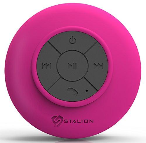 Shower Bluetooth Speaker (Pink) - 4