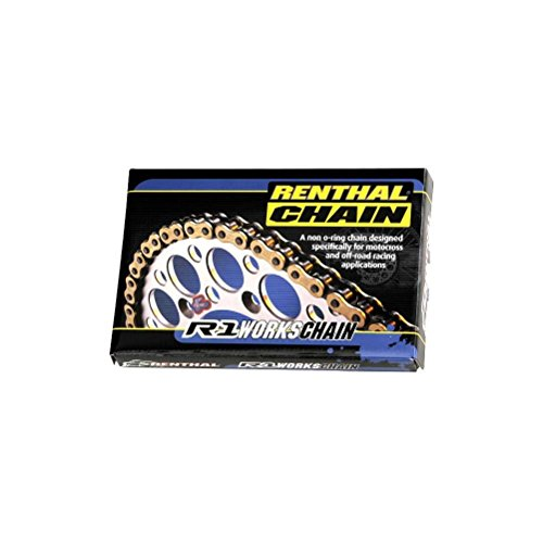 Renthal 520 R1 Works Non O-Ring Offroad Chain 120 Link Renthal R1 Works Chain