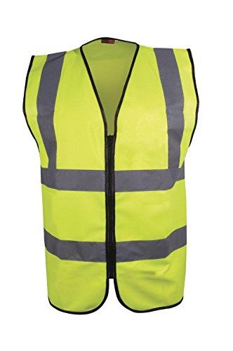 Blackrock, hochsichtbare Executive-Warnweste für Herren mit langen Ärmeln, gelb, EN471,Klasse 2