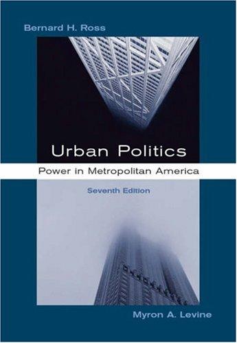 Urban Politics: Power in Metropolitan America