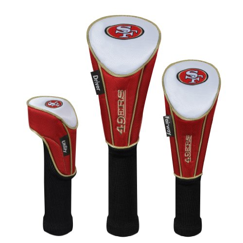 San Francisco 49ers Set of Three Headcovers