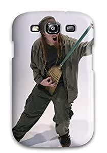 Awesome Devin Townsend Flip Case With Fashion Design For Galaxy S3
