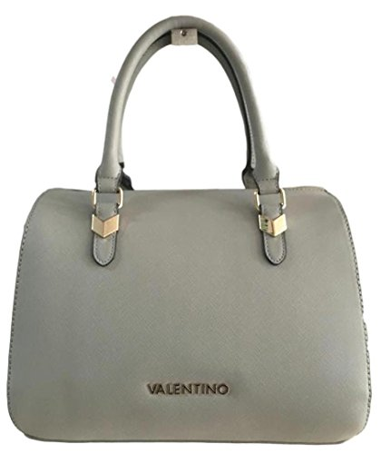 De Valentino Asas Cuero Para Mujer Sintético Gris Bolso 55rpxqW1