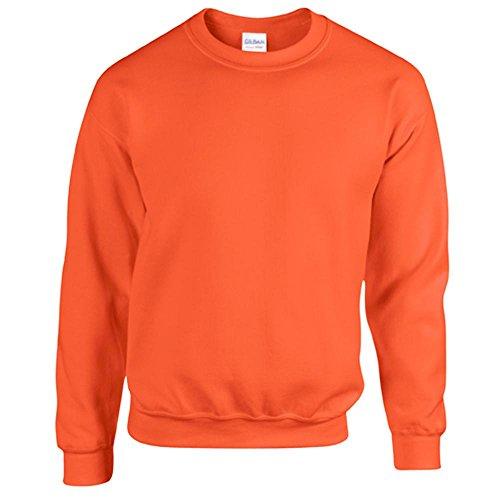 Gildan nbsp;felpa Orange Con Cappuccio nbsp;– 18500 O0PkX8nw