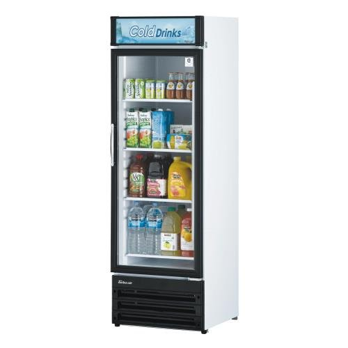 Turbo Air TGM-14RV, 1 Door, Glass Swing Door Refrigerator