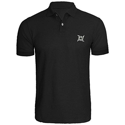 Mens Metallica Logo Embroidered Polo Shirts Men Shirts