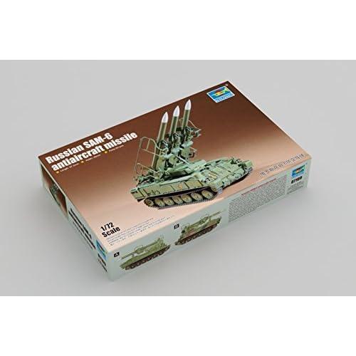 "'Trumpeter 07109–Modélisme Jeu de Russian Sam 6antiaircraft Missle """