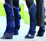 Rambo Travel Boots, Black/Silver, Horse
