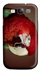cassette covers macaw parrot hd PC case/cover for Samsung Galaxy S3 I9300
