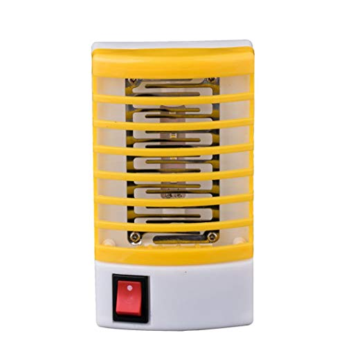 Pumsun LED Socket Electric Mosquito Fly Bug Insect Trap Killer Zapper Night  Lamp Lights (Yellow)
