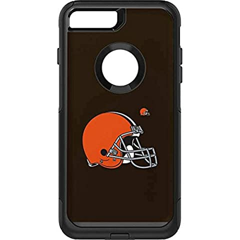 NFL Cleveland Browns OtterBox Commuter iPhone 7 Plus Skin - Cleveland Browns Large Logo - Brown Phone