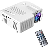 Adealink Portable UC28 PRO HDMI Mini LED Projector Home Cinema Theater AV VGA USB US Plug (B)