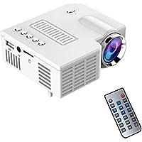 Adealink Portable UC28 PRO HDMI Mini LED Projector Home Cinema Theater AV VGA USB US Plug (B)