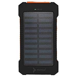 Premax 8600mAh Power Bank for Mobile Phones - PM-PB708, Black and Orange