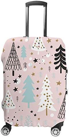 スーツケースカバー トラベルケース 荷物カバー 弾性素材 傷を防ぐ ほこりや汚れを防ぐ 個性 出張 男性と女性