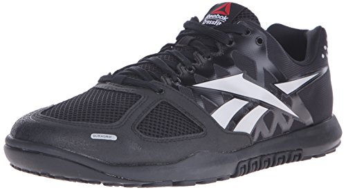 Reebok Men's Crossfit Nano 2.0 Training Shoe, Black/Zinc Grey, 9.5 M US
