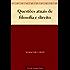 Questões atuais de filosofia e direito