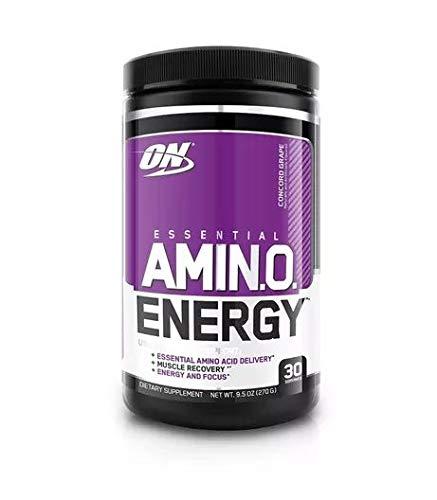 Optimum Nutrition Amino Energy, Sabor Uva, 270 gr