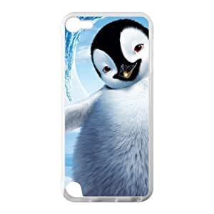 Cute Penguins Hot Fashion Design Case for IPod Touch 5 TPU (Laser Technology) Style 01