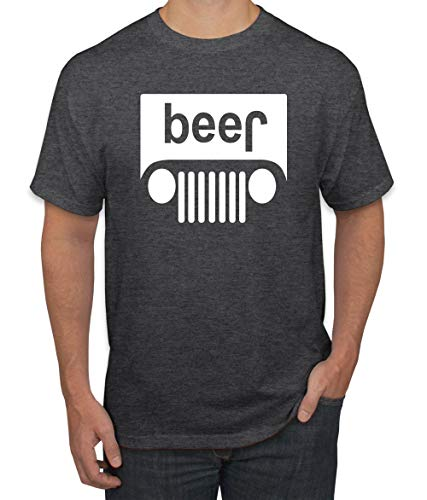 Wild Bobby Beer Logo | Cars and Trucks Parody Humor Alcohol | Mens Drinking Tee Graphic T-Shirt, Heather Black White, 2XL