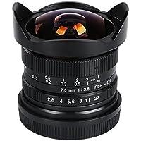 VILTROX 7.5mm F2.8 Fisheye lens for M43 Micro 4/3 cameras Panasonic GH5 GH85 GX7 GH4 Olympus OM-D series E-M1 II E-M5 II M10 III