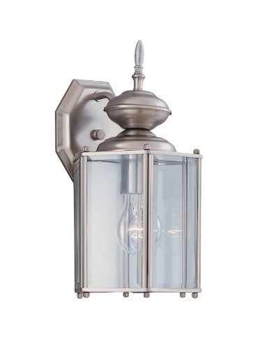 Designers Fountain 1101-PW Value Collection Wall Lanterns, Pewter by Designers Fountain