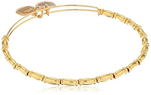 Alex and Ani Reed Shiny Gold Finish Bracelet