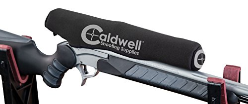 Caldwell Optic Armor Scope Cover with Lens Cloth, Stretchable Material and Storage Pocket for Outdoor, Range, Shooting and Hunting