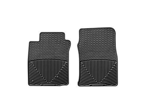 WeatherTech Trim to Fit Front Rubber Mats (Black) (2007 Mustang Weather Tech)