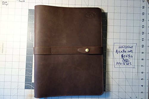 Leather Portfolio-Groomsmen gift-Notebook-Tablet Cover.estero-trading-co Positive Feedback by Estero Trading Company