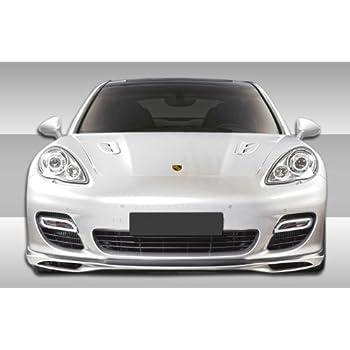 Duraflex Replacement for 2010-2013 Porsche Panamera Turbo Eros Version 1 Front Lip Under Spoiler