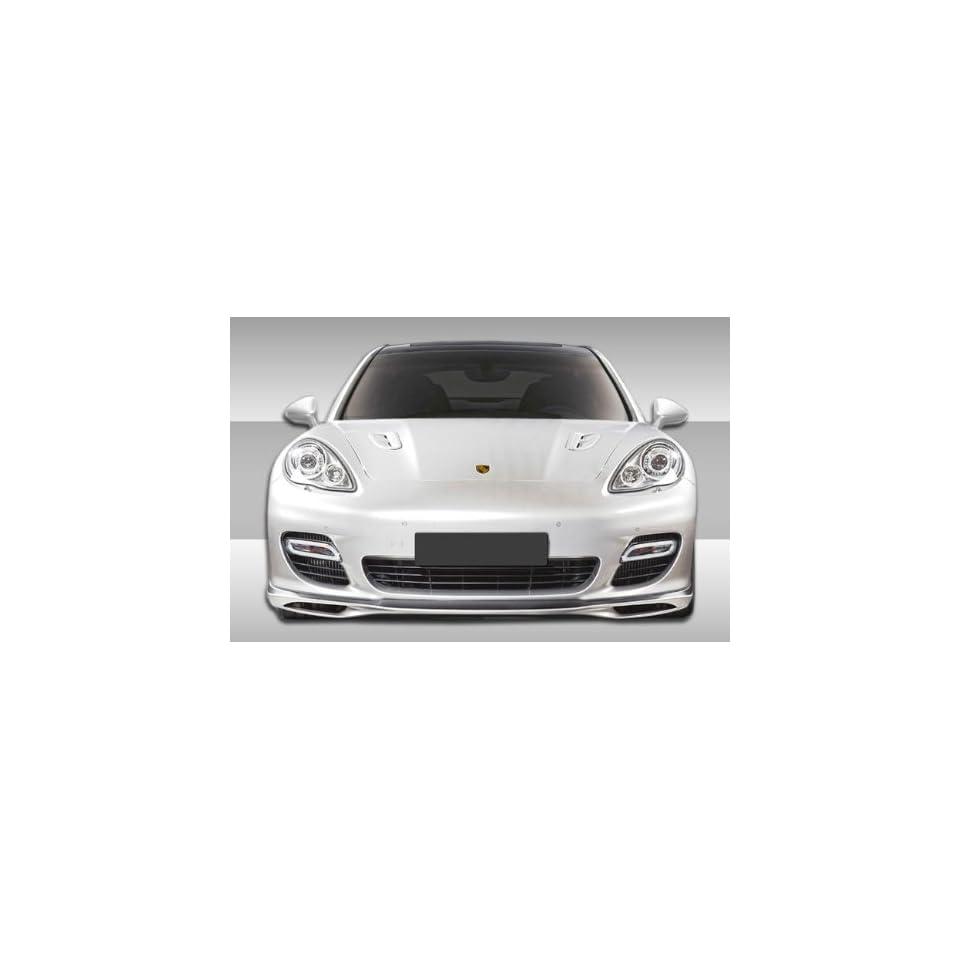 2010 2012 Porsche Panamera Turbo Eros Version 1 Front Lip Spoiler 107261