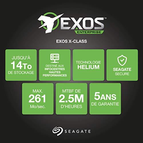 Seagate ST10000NM0146 10TB SATA 6Gb s Enterprise HDD 7200RPM 256MB Helium 4Kn (Renewed)